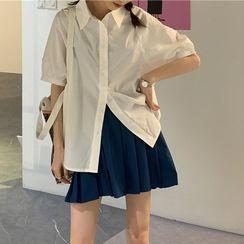 CEYX - 短袖襯衫/打褶襉裙