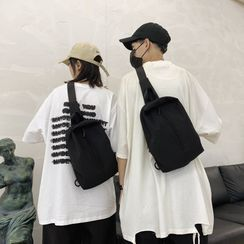 Carryme(キャリーミー) - Zip Detail Sling Bag