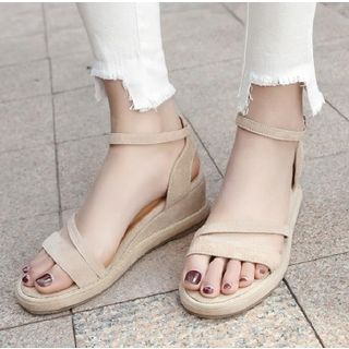 Freesia - Ankle Strap Wedge Sandals