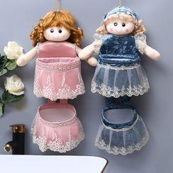Koeman - Chenille Doll Hanging Organizer