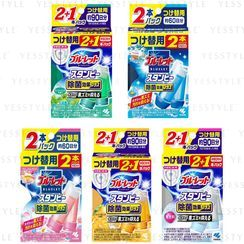 Kiribai - Bluelet Toilet Bowl Cleaner Stampy Plus 28g x 3 pcs - 5 Types