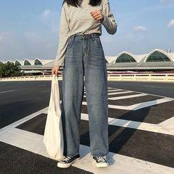 Sophia - Wide Leg Jeans