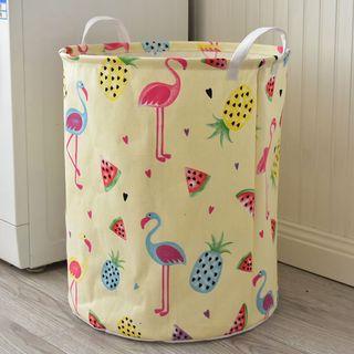 HAYNE - Printed Foldable Laundry Basket
