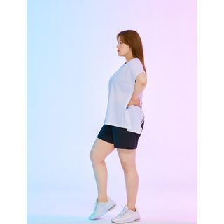 J-ANN - Open-Back UV-Block Sports T-Shirt