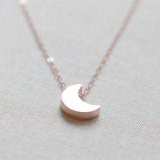 Seoul Young - Crescent Pendant Necklace