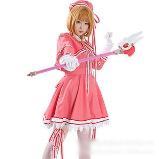 Comic Closet - Cardcaptor Sakura - Kinomoto Sakura Cosplay Costume Set