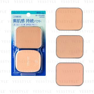Shiseido - Selfit Natural Finish Foundation SPF 20 PA++ With Sponge Refill 13g - 3 Types