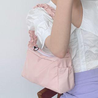 Geolte - Ruffle Strap  Hand Bag