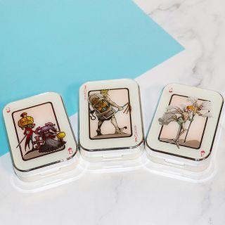 Jamotti - Poker Card Print Contact Lens Case