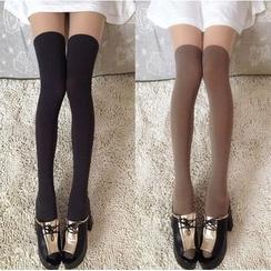 Little Flower - Over-The-Knee Stockings