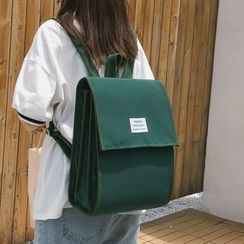 MUSA - Letter Tag Nylon Backpack