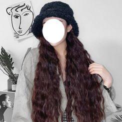 Sevena - Long Half Wig  - Wavy with Bucket Hat