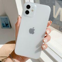 Chatarine - Transparent Phone Case - iPhone 13 Pro Max / 13 Pro / 13 / 13 mini / 12 Pro Max / 12 Pro / 12 / 12 mini / 11 Pro Max / 11 Pro / 11 / SE / XS Max / XS / XR / X / SE 2 / 8 / 8 Plus / 7 / 7 Plus