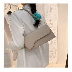 Nautilus Bags - 純色翻蓋斜挎包