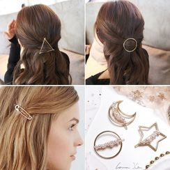 Coolgirl - Geometric Hair Clip (Various Designs)