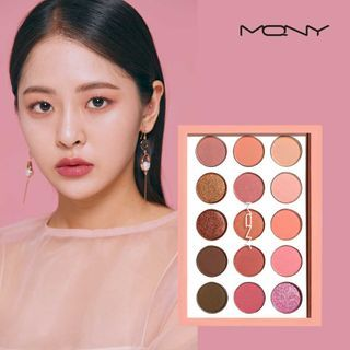 MACQUEEN - 1001 Tone On Tone Shadow Palette Coral Edition