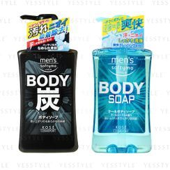 Kose - Softymo Men's Body Soap 550ml - 2 Types