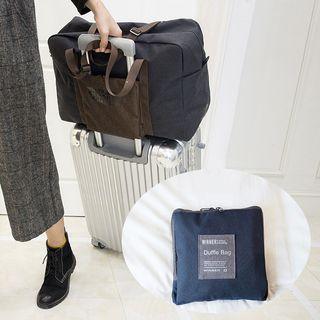 Vegabond - Lettering Foldable Travel Carryall Bag