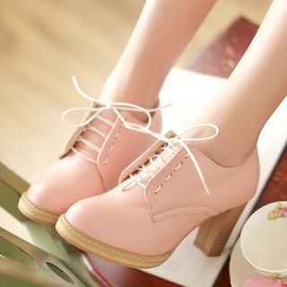 Freesia - 鞋跟牛津鞋