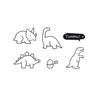 Tattoofield - Dinosaur Waterproof Temporary Tattoo