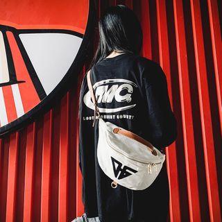 Carryme - Logo Canvas Sling Bag