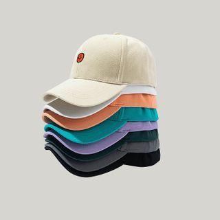 Hat Society - 笑脸刺绣棒球帽
