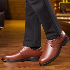 Kayne H - Genuine Leather Lined Derby Shoes