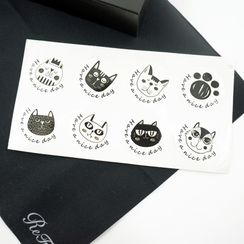 Nastaccey - Cat Sticker
