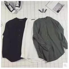 Acrius - Plain Long-Sleeve Shirt