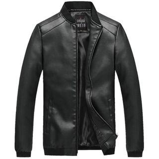Carser - Faux Leather Jacket