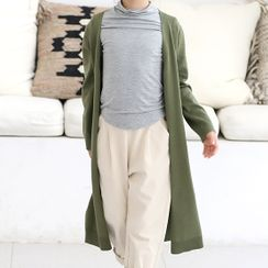 Chisy - Kids Open Front Long Cardigan