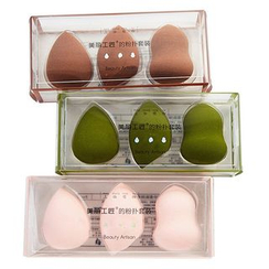 Beauty Artisan - Set of 3: Makeup Blender Beauty Sponge
