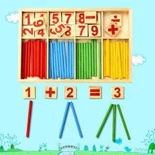 四季美 - 小童木制数学玩具