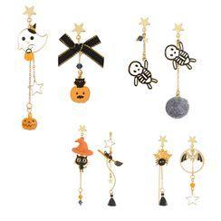 Bastil - Asymmetric Halloween Drop Earring