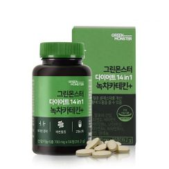 GREEN MONSTER - Diet 14 in 1 Green Tea Catechin+