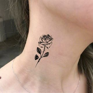 Tattoo Kingdom - Flower Waterproof Temporary Tattoo