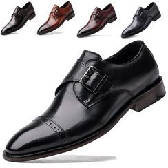 WeWolf - Belted Genuine-Leather Dress Shoes