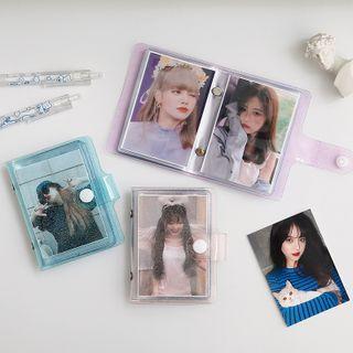 Nina's House - Snap-Button Transparent Photo Album