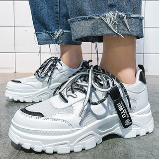 Chaoqi - Platform Panel Sneakers