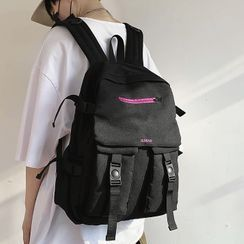 SUNMAN - Buckled Oxford Backpack
