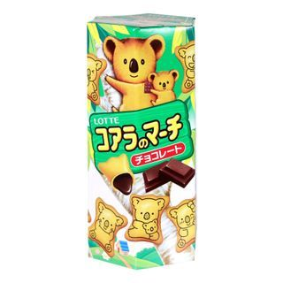 Lotte(ロッテ) - Koala Chocolate Filled Biscuits 37g