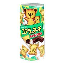 LOTTE - Galletas koala rellenas de chocolate 37 g