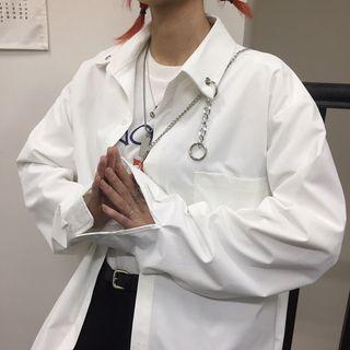 Magma - Couple Matching Chain Detail Shirt