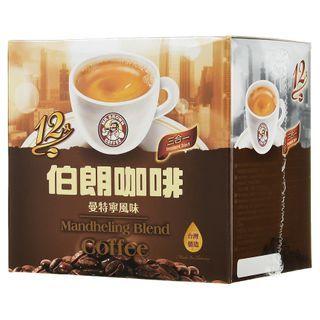 Three O'Clock - Mr.Brown Mandheling Blend Coffee(3in1) 16g x12