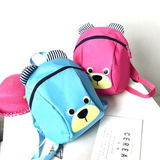 Golden Kelly - Kids Bear Print Backpack