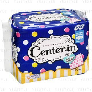 Unicharm - Center-In For Night Wing Feminine Pads 29cm