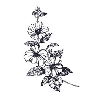 abecome - Flower Waterproof Temporary Tattoo