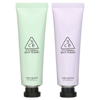 3CE - Back To Baby Make Up Base SPF 30 PA+++ (Mint Green) 30ml