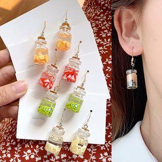 Cuivre - Acrylic Miniature Drink Dangle Earrings