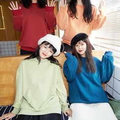 MEOLI - Embroidered Oversize Pullover